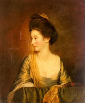Joseph Wright Of Derby : Portrait Of Susannah Leigh